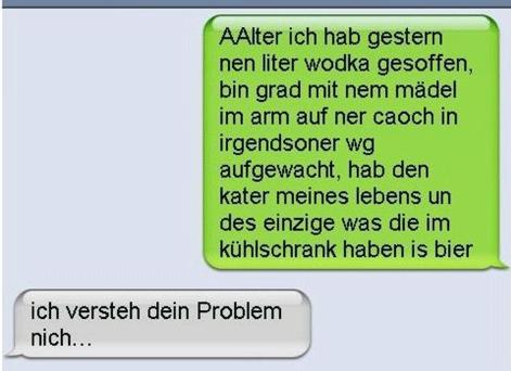 Wo ist das Problem?