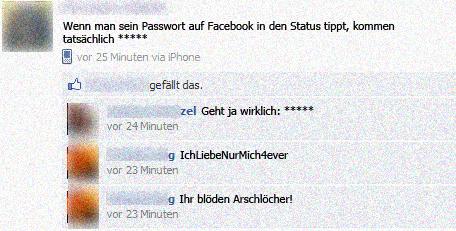 Fieser Passwort Trick