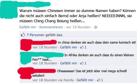 Fail! Chinesische Namen!