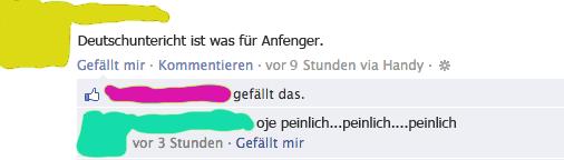 Deutsch-Unterricht