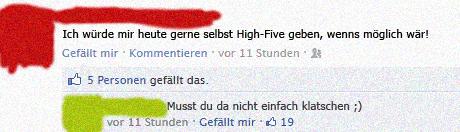High Five Fail