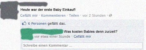 Baby Einkauf - Fail