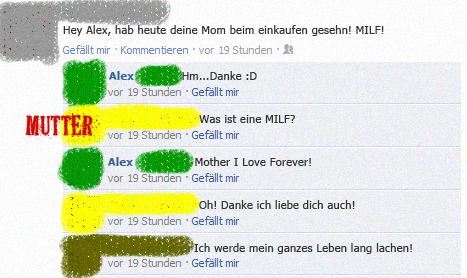 MILF Facebook Fail