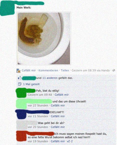Toilettenfail Facebook