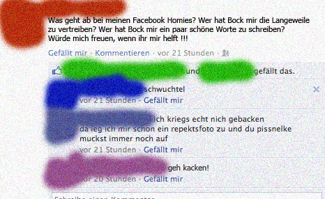 Nette Facebook Freunde